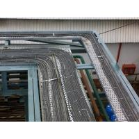 Quality Single Chain Drive Cable Tray Roller Making Machine / Roll Forming Machinery for sale