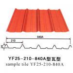 Quality Industrial Corrugated Galvanized Steel Sheet Metal , Prepainted Steel Sheet for sale