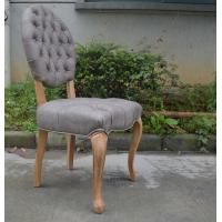 Hot Sale Antique Solid Wood Chinese Restaurant Scandinavian Leather Chair/Leather Canteen Chairs