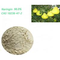 Natural Citrus Aurantium Powder Naringin Extract Light Yellow In Nutritional Supplements