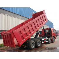 Quality HOWO 8*4-336HP-27cbm-Dump tipper truck-one bed for sale