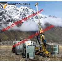 Buy cheap 23.5kw Engine Man Portable Drilling Rig Full Hydraulic Core 200m Drilling from wholesalers