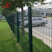 Quality Customized Size 3D Curved Wire Mesh Fence Welded 200x50mm Powder Coated for sale