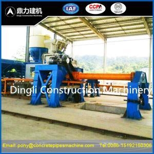 Quality semi-automatic concrete pipe machine for sale