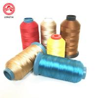 China Eco-friendly High Tenacity Polyester Sewing Thread For Europe America Market on sale