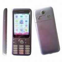 Quality GSM Double-frequency Digital Mobile Phones/Qwerty Dual-SIM Card Phones, Touch Color Screen for sale
