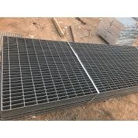 China Welded Industrial Steel Grating , Mild Steel Grating Plain Bearing Bar on sale