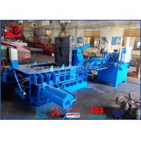 Waste Beverage Cans Hydraulic Scrap Metal Baler With Hand Valve Control for sale