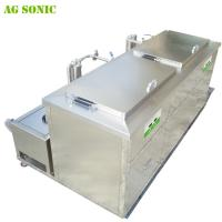 Buy Double Tanks Ultrasonic Engine Cleaner , Waterproof Engine Block Washing Machine at wholesale prices