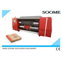 China Corrugated Die Cutting And Creasing Machine / Automatic Pizza Box Making Machine on sale