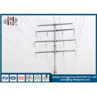 Quality 35KV Polygonal Anti-rust Steel Tubular Pole For Electrical Power Transmission Line for sale