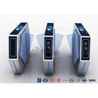 2 Lanes Flap Barrier Turnstile With Ticket Manament System With Light In Cinema