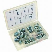 China 32 Pieces Metric Grease Fittings on sale