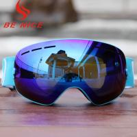 Youth Womens Otg Snow Goggles , Otg Snowboard Goggles Quick Change Strap