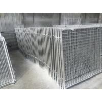 Quality Long Life Custom Galvanized Steel Wire Garbage Cage , Professional Waste Cage for sale