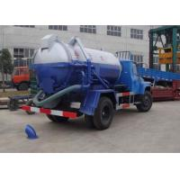 Quality 5T Corrosion Resistant Special Purpose Vehicles , 6.5L Sewage Pump Truck XZJ5120GXW for sale