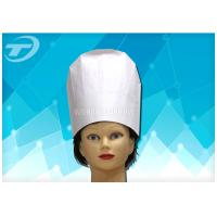 Quality High Uniformity Disposable Chef Caps / Comfortable Medical Head Cap for sale