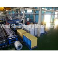 Quality PU Sandwich Panel Production Line Electrical / Hydraulic Controlling for sale