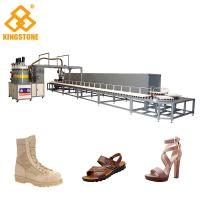 Buy Mono / Two Color Polyurethane PU Pouring Machine For Shoe Soles / Full Automatic at wholesale prices