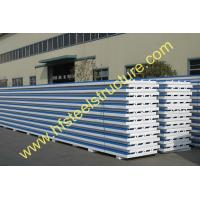 Quality Cold Room Corrugated EPS Sandwich Metal Roofing Sheets Wall Panels for sale