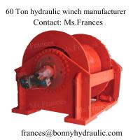 China Hydraulic hoist and winches (60 ton) on sale