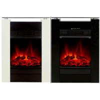 China insert electric fireplace MDF mantel and tempered glass table modern stove KNSING on sale