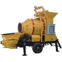 Quality Hot Sale JBT Series Diesel small portable concrete pump with mixer for sale