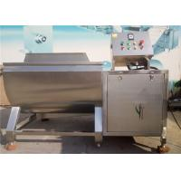 Quality Leafy Vegetable Washing Machine 3kw Pump Power High Airflow Adjusted Speed for sale