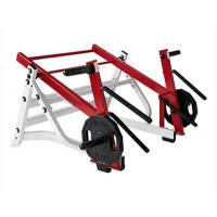 China Ground Base Plate Loaded Squat Machine , For Fitness Center Plate Loaded Gym Machines on sale