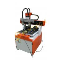 Quality New arrival small 4 axis CNC Router machine with double head double rotary axis for sale