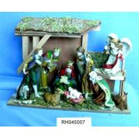 China Religious craft, Christian, Nativity Set (polyresin) on sale