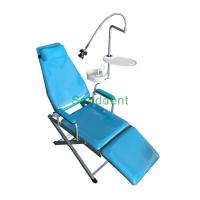 Quality Dental Standard Type Folding Chair with Luxury Plastic Spitton / Portable Dental Unit SE-Q034 for sale