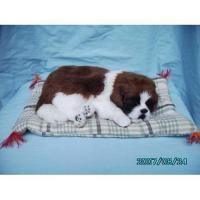 China Snoring &breathing cat and dog model toy on sale