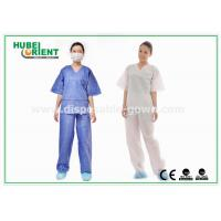Quality Breathable Surgical Disposable Protective Gowns Shirt and Pant Hospital use for sale