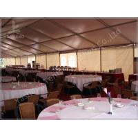 Large Buffet Waterproof Party Tents For Hire 10X30 Temporary Aluminium Frame Marquee