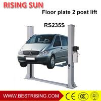 China Base plate design two post car lift for auto workshop on sale