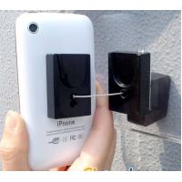 Quality COMER anti-theft cable locking devices cellphone pull box retractor display stands holders wall mounted for sale