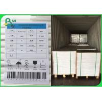 Buy cheap FSC Certified UWF Uncoated Woodfree paper 80 100 120gsm OBA free in Sheets from wholesalers