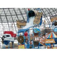 Quality Fiberglass Water Playground Equipment / Water Playstation Customized for sale