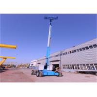 Quality Self Propelled Boom Man Lift , Compact Boom Lift Municipal Applied for sale