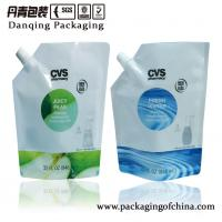 Quality High Barrier Detergent Stand Up Pouch With Spout For Hand Soap Packaging for sale