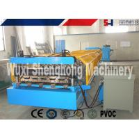 Quality Blue Metal Wall Panel Roll Forming Machine Cr12 Quenched Treatment for sale
