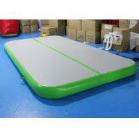 Quality Drop Stitch Inflatable Air Track , Gymnastics Air Mat Apply To Sport Game for sale