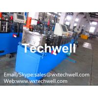 Quality Metal /  Steel 0.4 - 1.0mm Stud Roll Forming Machine for Light Steel Stud and Track for sale