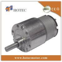 China low torque light duty low rpm 6V 12v dc motor with gearbox on sale