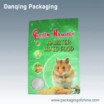 Quality Waterproof PET Food Packaging, 3 Side Seal Pouch, Pet Food Packaing Bags for sale