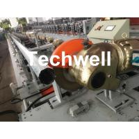 Quality Octagonal, Octagon Pipe Roll Forming Machine for Rolling Shutter Axes With Manual Decoiler / Uncoiler for sale