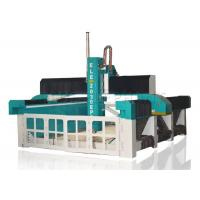 Quality Self - Lubricating MDF Engraving Machine , Horizontal Foam Cutting Machine Large Bed Size for sale