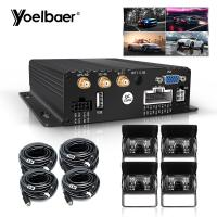 Quality OEM ODM 1080P Mobile DVR System With 4PCS External Waterproof AHD Camera for sale