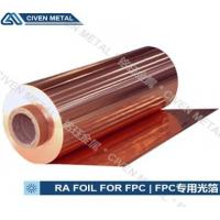 Quality 12UM copper foil roll for Flexible Printed Circuits / copper clad laminate for sale